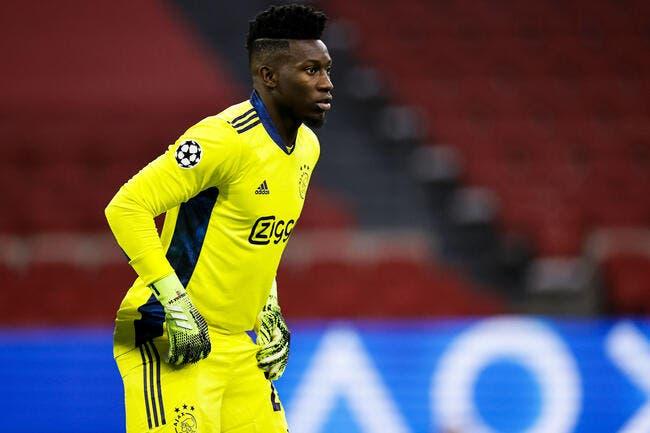 OL: L'Inter veut convaincre Onana de rester à l'Ajax