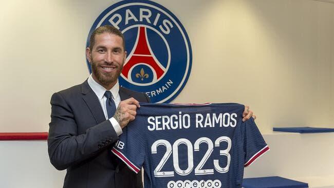 PSG : Sergio Ramos à Paris, cette fois c'est officiel !