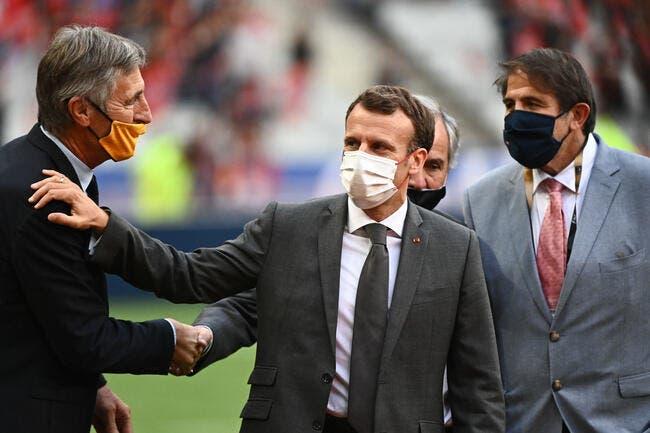 TV : Macron colle un carton jaune à BeInSports et Canal+