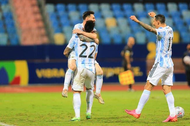 Copa America : Di Maria offre le titre à l'Argentine !