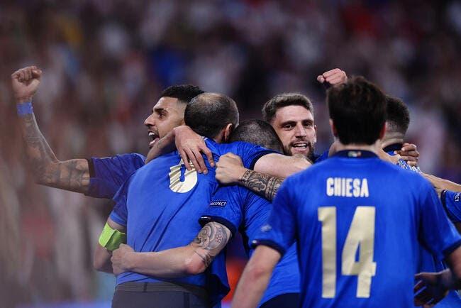 Euro : L'Italie championne d'Europe aux tirs au but