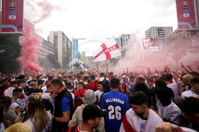Euro : Incidents à Wembley, la police débordée