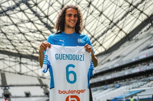 OM : Marseille ou rien, Guendouzi drague les supporters