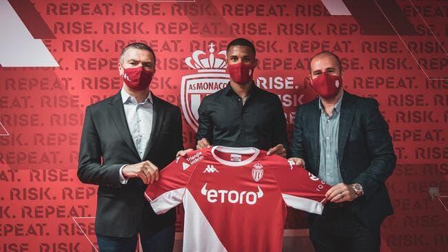 ASM : Ismail Jakobs à Monaco jusqu'en 2026