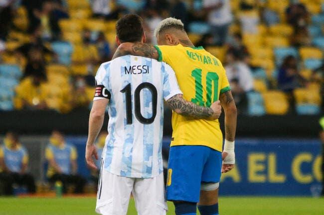 Copa America : L'équipe type avec Neymar et Messi