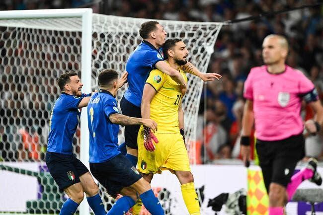 Euro : Donnarumma ne savait pas que l'Italie avait gagné