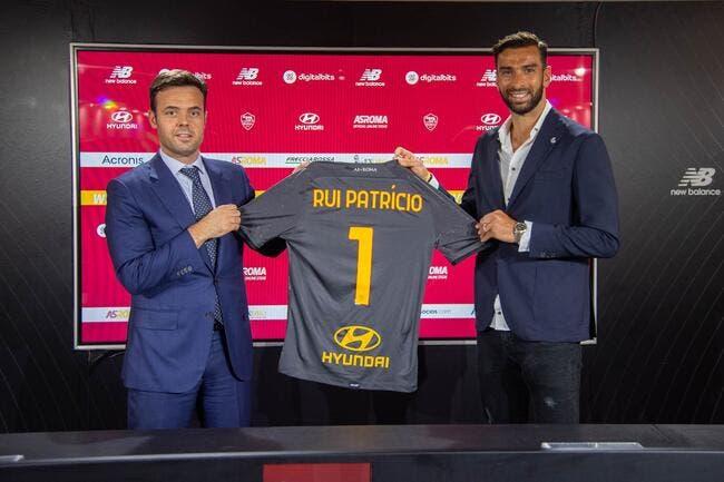 Ita : Rui Patricio signe à l'AS Rome