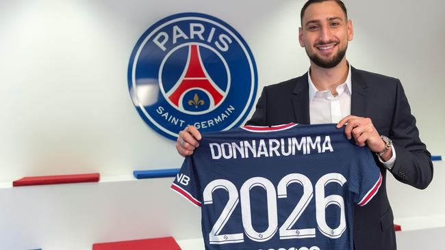 Paris : Donnarumma au PSG jusqu'en 2026 !