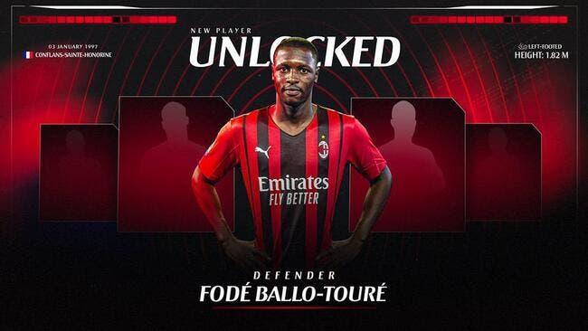 Officiel : Ballo-Touré signe au Milan AC pour 4 ME