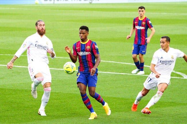 PSG : Sergio Ramos rêve d'une star du Barça, ce n'est pas Messi