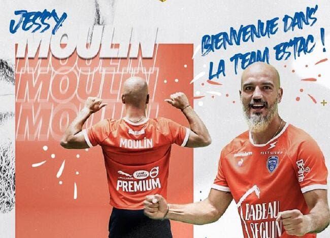 Officiel : Moulin quitte l'ASSE et signe à Troyes