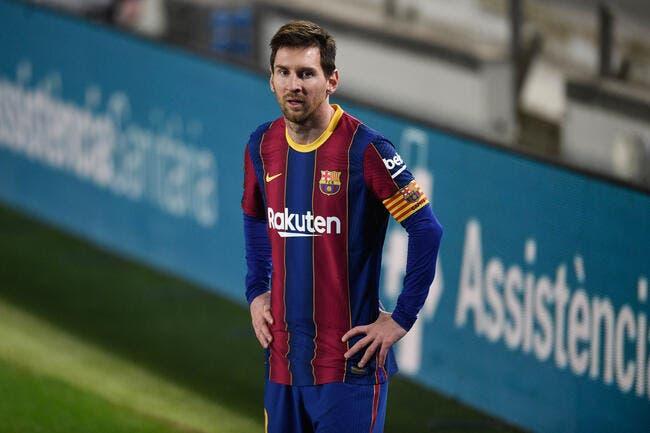 Esp: Messi coule le Barça et s'en sort indemne