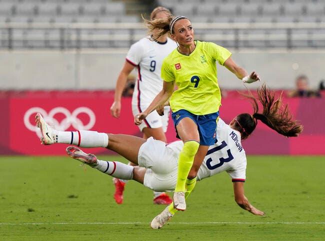JO : Les Américaines balayées par la Suède !