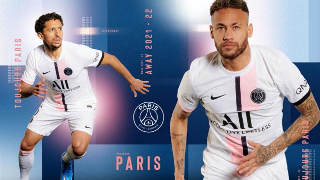 PSG : Le nouveau maillot extérieur dévoilé