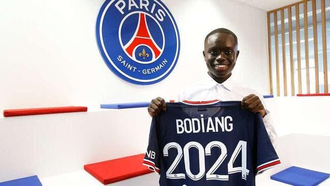 Officiel : Le PSG fait signer Moutanabi Bodiang
