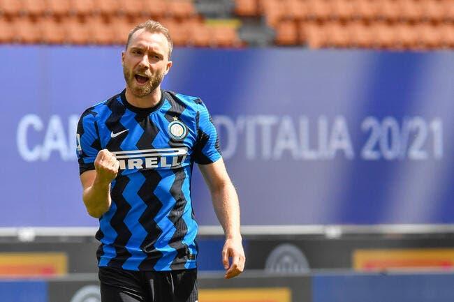 Serie A : Eriksen ne pourra plus jouer avec l'Inter Milan