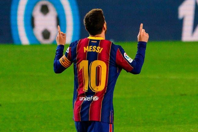 Esp: Messi en tribunes jusqu'en janvier, le Barça panique