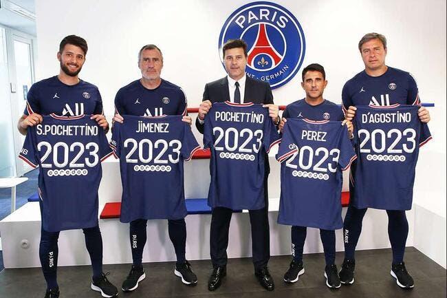 Officiel : Le PSG prolonge Pochettino jusqu'en 2023