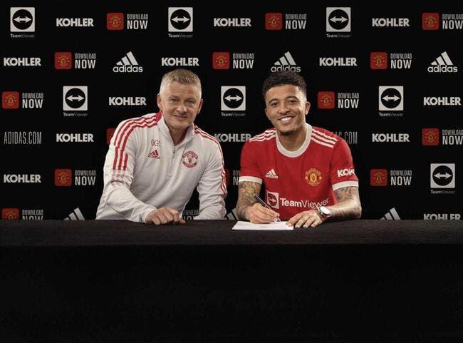 Officiel : Manchester United recrute Sancho pour 85 ME
