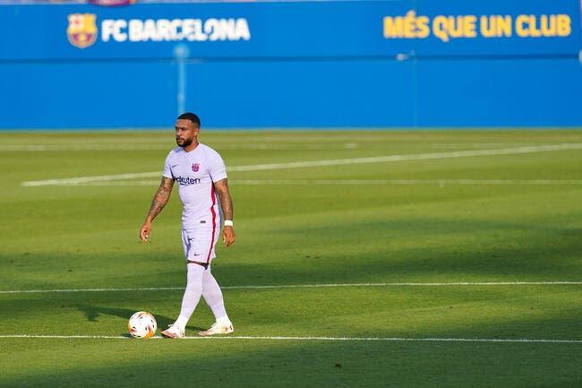 Barça : Depay marque pour ses débuts