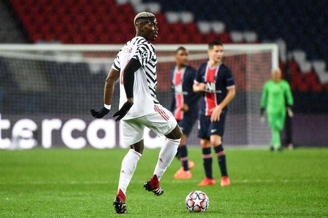 PSG: Man United met un stop à Pogba