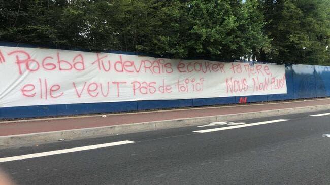 PSG : Mystérieuses banderoles anti-Pogba à Paris