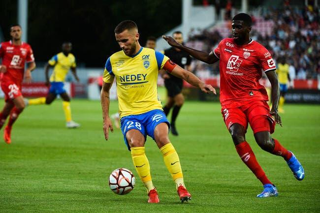 L2 : Sochaux plombe l'ambiance à Dijon