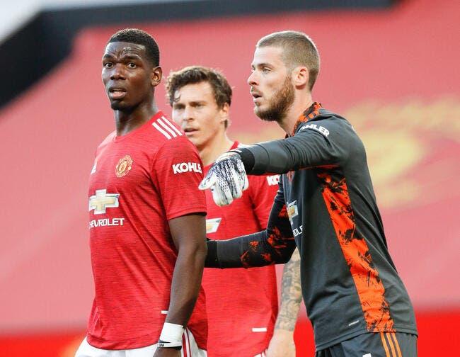 Man Utd : De Gea pousse Pogba au PSG