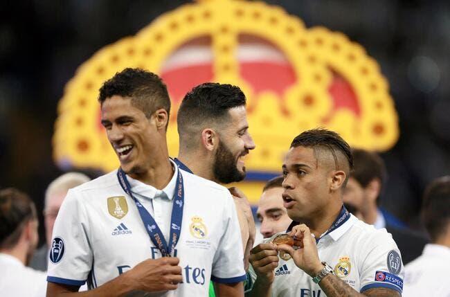Liga : Le Real remercie «l'exemple» Raphaël Varane