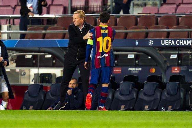 Esp: Messi revient et repart, le Barça doit patienter