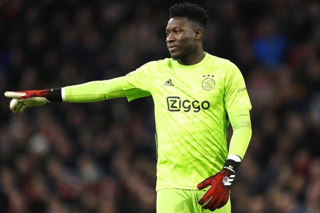 OL : Onana, l'Ajax n'a aucune nouvelle de Lyon depuis 7 jours !