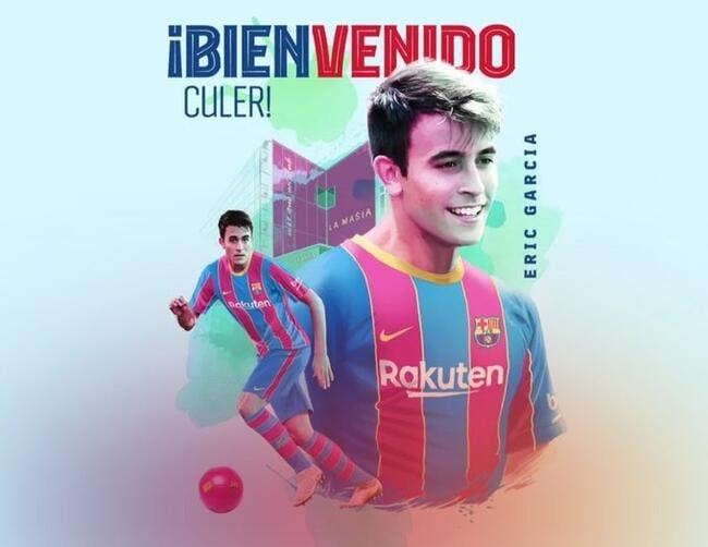 Officiel : Eric Garcia signe cinq ans à Barcelone