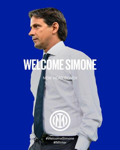 Officiel : Simone Inzaghi entraineur de l'Inter