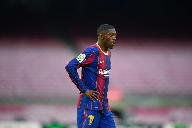 Esp : Dembélé rend dingue Barcelone