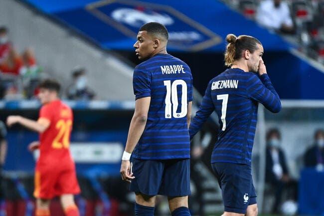 WTF : Un transfert étonnant, Griezmann fait grimacer Mbappé