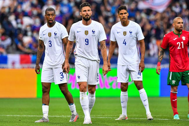 Benzema blessé, Giroud marque et la France gagne