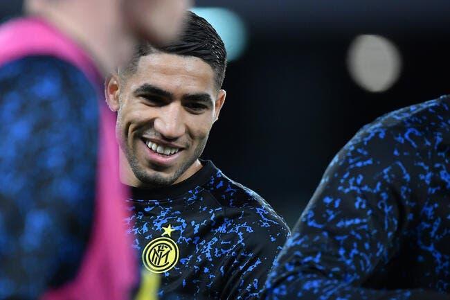PSG : 80 ME ou rien, l'Inter ne lâche pas Hakimi
