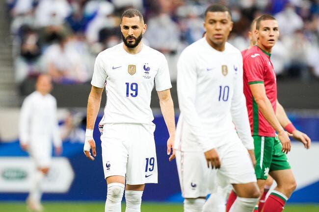 EdF : Jouer avec Mbappé et Griezmann, trop facile pour Benzema