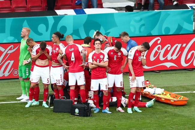 Euro 2021 : Eriksen victime d'un dramatique malaise cardiaque