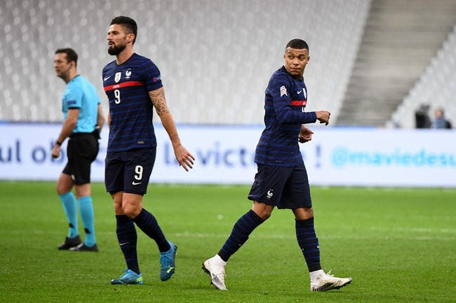 Deschamps démonte un clash Mbappé-Giroud
