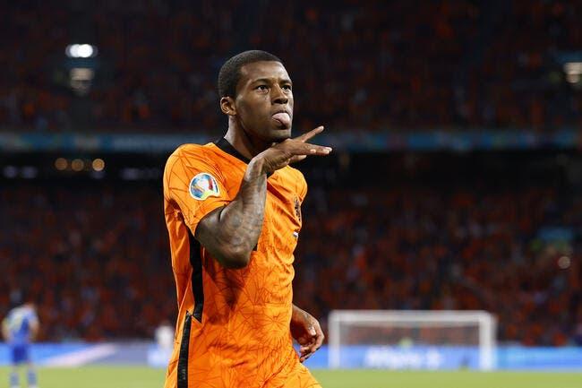 Euro 2021 : Bousculés, les Pays-Bas soufflent avec Wijnaldum