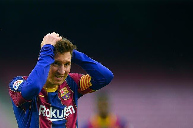 Lionel Messi, le Barça craint un coup tordu du PSG