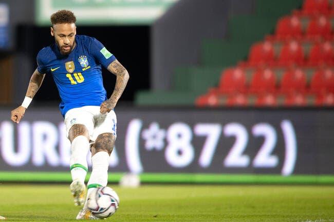 PSG : Le Brésil donne tout le pouvoir du jeu à Neymar