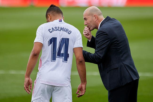 Esp : Un journaliste harcèle Zidane, c'est le clash
