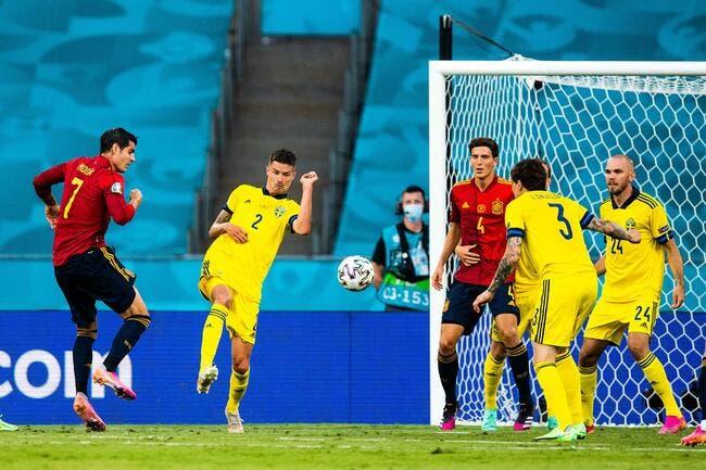 Euro 2021 : L'Espagne incapable de battre la Suède