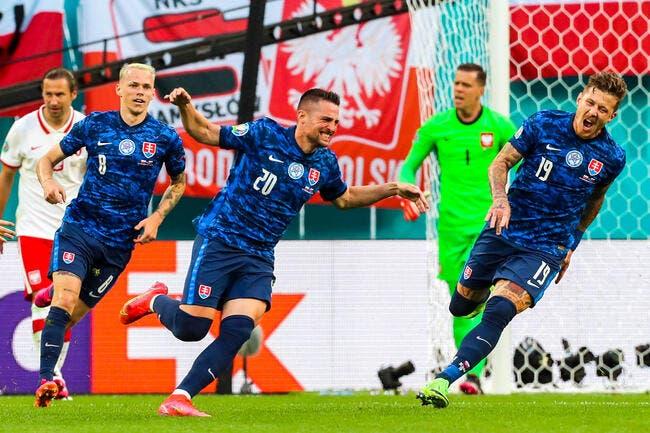 Euro 2021 : La Slovaquie surprend la Pologne !