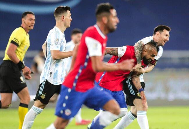 Copa : L'Argentine accrochée malgré Messi