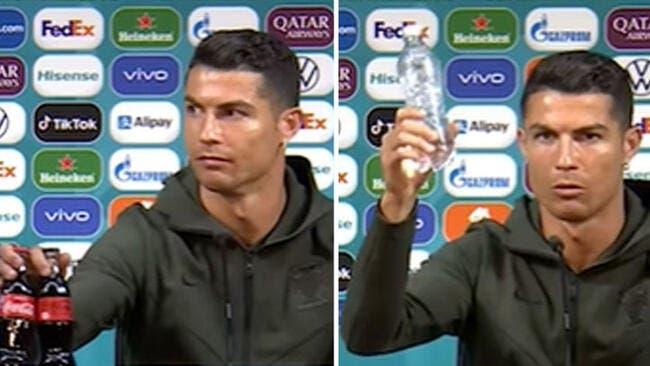 Cristiano Ronaldo coûte des miliards à Coca-Cola !