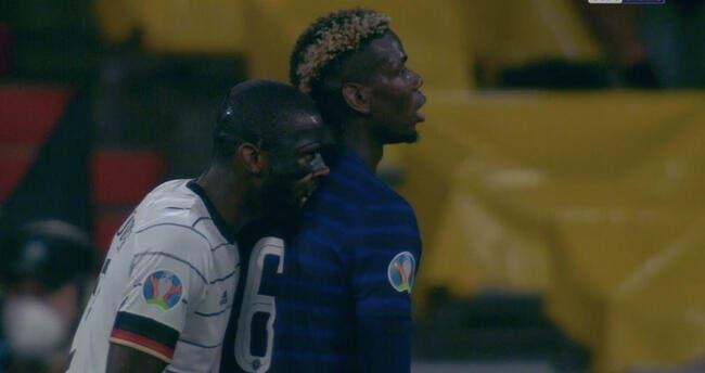 Pogba pardonne à Rudiger de l'avoir «grignoté»