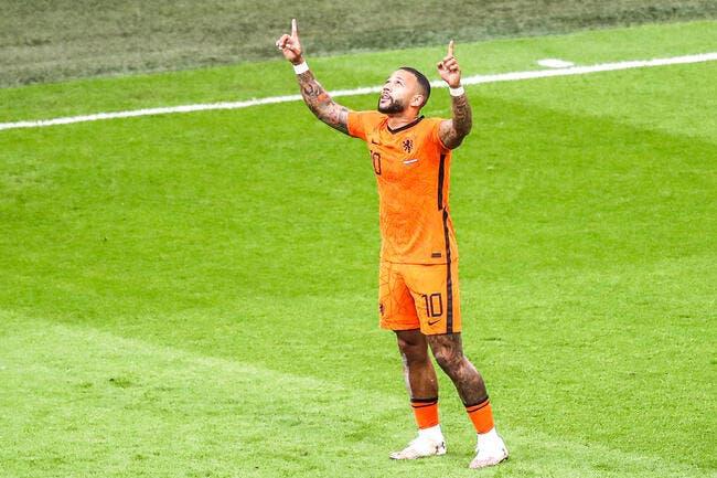 Euro 2021 : Memphis Depay assure, les Pays-Bas premiers